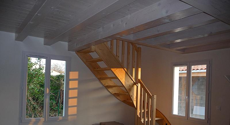 charpente solivage maison oleron