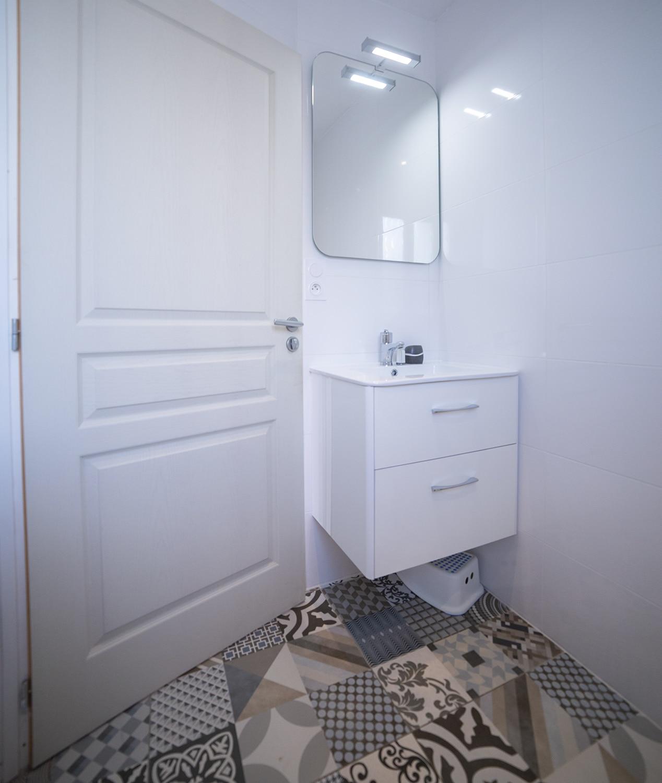 faience salle de bains maison oléron