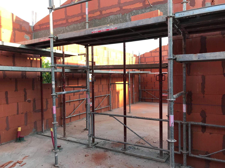 Maconnerie construction maison oleron briques