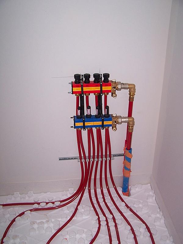 plancher chauffant hydraulique maison oleron