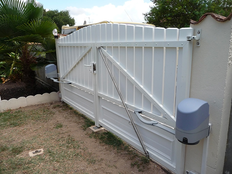 Motorisation de portail - maison oleron