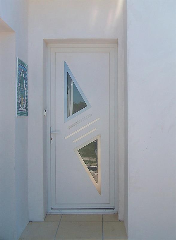 Porte d'entrée maison oléron